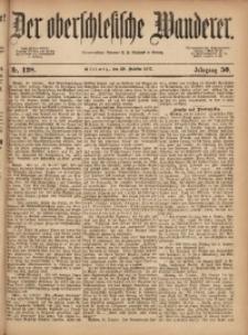Der Oberschlesische Wanderer, 1877, Jg. 50, Nr. 128