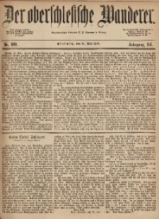 Der Oberschlesische Wanderer, 1878, Jg. 51, Nr. 60