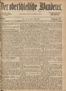 Der Oberschlesische Wanderer, 1878, Jg. 51, Nr. 68