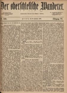Der Oberschlesische Wanderer, 1878, Jg. 51, Nr. 121