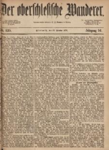 Der Oberschlesische Wanderer, 1878, Jg. 51, Nr. 125