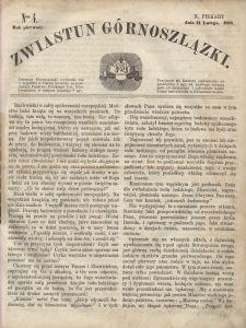 Zwiastun Górnoszlązki, 1868, R. 1, nr 4