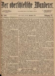 Der Oberschlesische Wanderer, 1878, Jg. 51, Nr. 134
