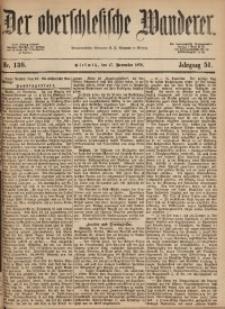 Der Oberschlesische Wanderer, 1878, Jg. 51, Nr. 136