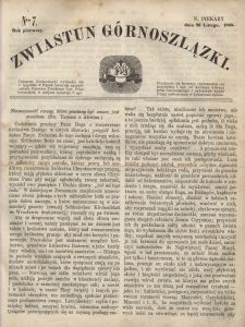 Zwiastun Górnoszlązki, 1868, R. 1, nr 7