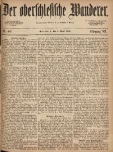 Der Oberschlesische Wanderer, 1879, Jg. 52, Nr. 40