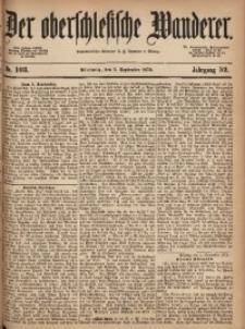 Der Oberschlesische Wanderer, 1879, Jg. 52, Nr. 103