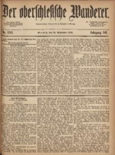 Der Oberschlesische Wanderer, 1879, Jg. 52, Nr. 111