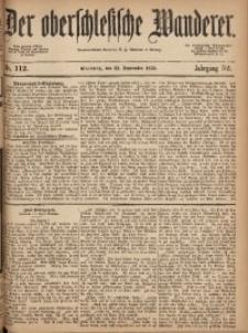 Der Oberschlesische Wanderer, 1879, Jg. 52, Nr. 112
