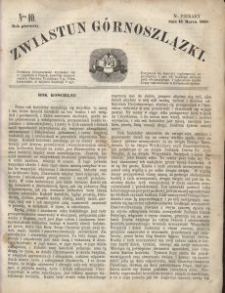 Zwiastun Górnoszlązki, 1868, R. 1, nr 10