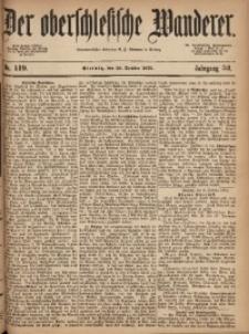 Der Oberschlesische Wanderer, 1879, Jg. 52, Nr. 119