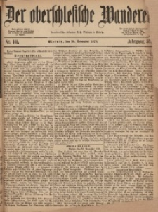 Der Oberschlesische Wanderer, 1879, Jg. 52, Nr. 141