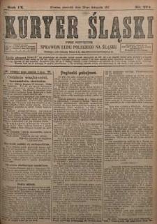 Kuryer Śląski, 1917, R. 9 [właśc. 11], nr 274