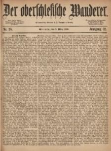 Der Oberschlesische Wanderer, 1880, Jg. 52, Nr. 28