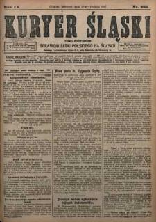 Kuryer Śląski, 1917, R. 9 [właśc. 11], nr 285