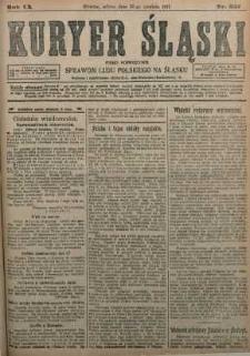 Kuryer Śląski, 1917, R. 9 [właśc. 11], nr 287