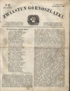 Zwiastun Górnoszlązki, 1868, R. 1, nr 12
