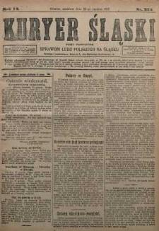 Kuryer Śląski, 1917, R. 9 [właśc. 11], nr 294