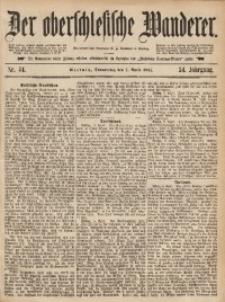 Der Oberschlesische Wanderer, 1881, Jg. 54, Nr. 44