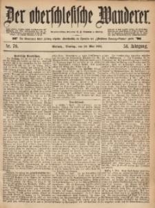 Der Oberschlesische Wanderer, 1881, Jg. 54, Nr. 70