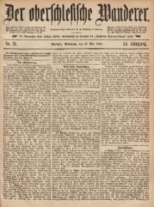Der Oberschlesische Wanderer, 1881, Jg. 54, Nr. 71
