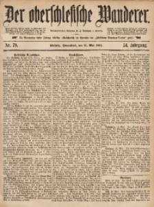 Der Oberschlesische Wanderer, 1881, Jg. 54, Nr. 79