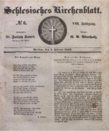 Schlesisches Kirchenblatt, 1842, Jg. 8, Nr. 6