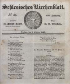 Schlesisches Kirchenblatt, 1842, Jg. 8, Nr. 45
