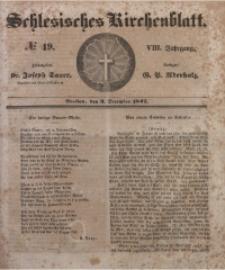 Schlesisches Kirchenblatt, 1842, Jg. 8, Nr. 49