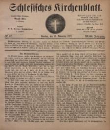 Schlesisches Kirchenblatt, 1877, Jg. 43, Nr. 47
