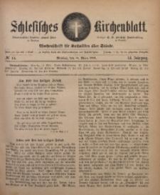 Schlesisches Kirchenblatt, 1885, Jg. 51, Nr. 11