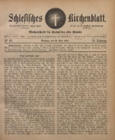 Schlesisches Kirchenblatt, 1885, Jg. 51, Nr. 22