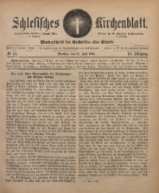 Schlesisches Kirchenblatt, 1885, Jg. 51, Nr. 31