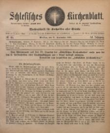 Schlesisches Kirchenblatt, 1885, Jg. 51, Nr. 39