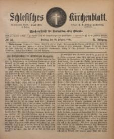 Schlesisches Kirchenblatt, 1885, Jg. 51, Nr. 43
