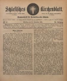 Schlesisches Kirchenblatt, 1885, Jg. 51, Nr. 47