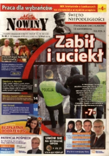 Nowiny Nyskie 2010, nr 45.