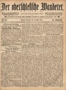 Der Oberschlesische Wanderer, 1882, Jg. 54, Nr. 74