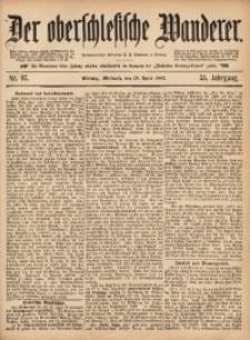 Der Oberschlesische Wanderer, 1882, Jg. 55, Nr. 97