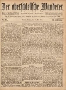 Der Oberschlesische Wanderer, 1882, Jg. 55, Nr. 113