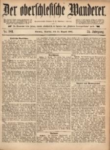 Der Oberschlesische Wanderer, 1882, Jg. 55, Nr. 189