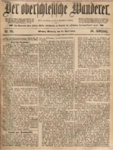 Der Oberschlesische Wanderer, 1883, Jg. 56, Nr. 89