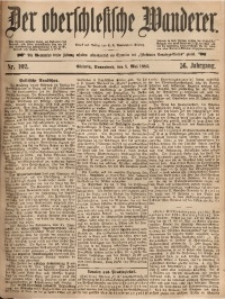 Der Oberschlesische Wanderer, 1883, Jg. 56, Nr. 102