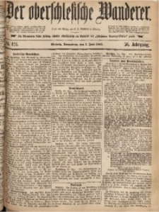 Der Oberschlesische Wanderer, 1883, Jg. 56, Nr. 124