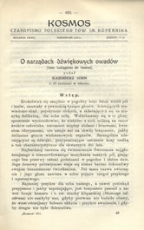 Kosmos, 1911, R. 36, z. 7/9