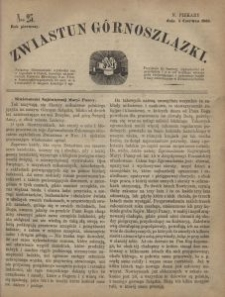 Zwiastun Górnoszlązki, 1868, R. 1, nr 23