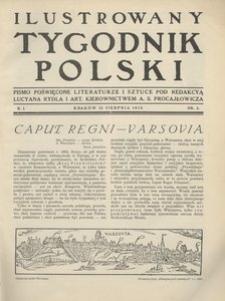 Ilustrowany Tygodnik Polski, 1915, R. 1, nr 3
