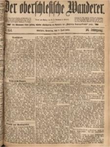 Der Oberschlesische Wanderer, 1883, Jg. 56, Nr. 154