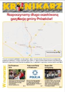 Kronikarz Gminy Prószków 2018, nr 9.
