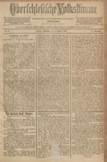 Oberschlesische Volksstimme, 1891, Jg. 17, Nr. 3
